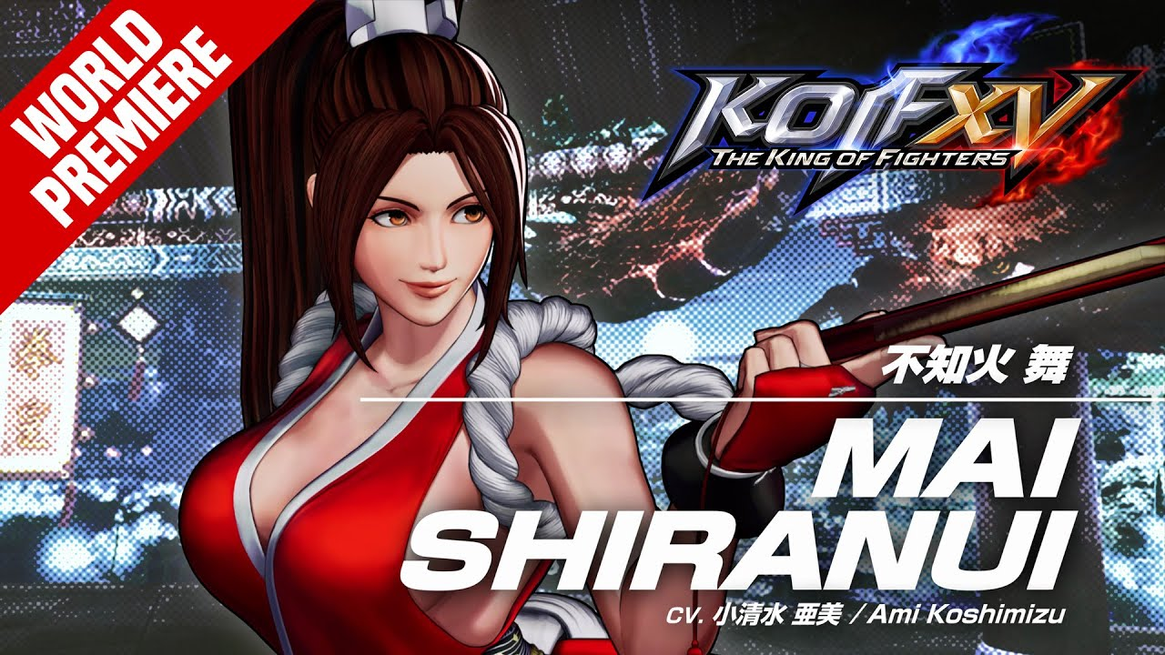 Bande-annonce Mai Shiranui The King of Fighters 15