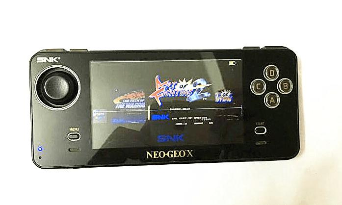 Une Neo Geo X version Gold de couleur noire