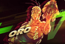 Le personnage de Street Fighter V Oro