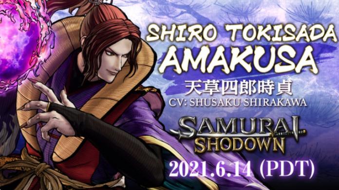 Shiro Tokisada Amakusa nouveau DLC Samurai Shodown