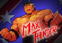 Le personnage en DLC de Streets of Rage 4 Max Thunder