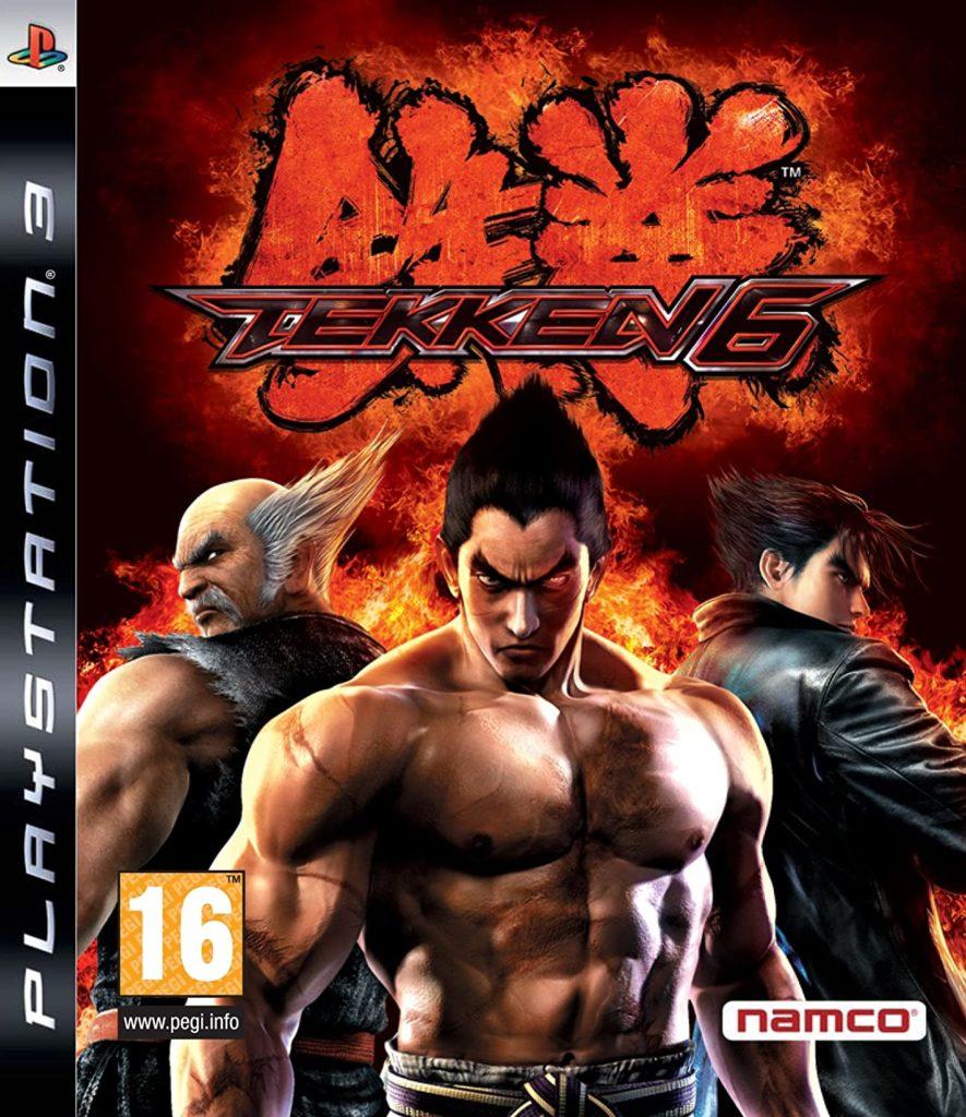La jaquette Playstation 3 de Tekken 6