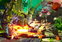 Potemkin frappant May qui bloque sur Guilty Gear Strive (GGST)
