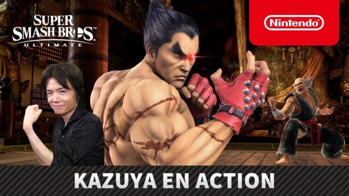 présentation kazuya dlc super smash bros ultimate