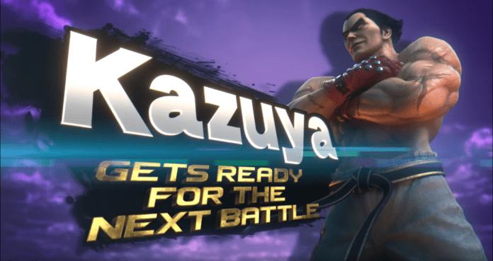 Kazuya de Tekken arrive dans Super Smash Bros. Ultimate
