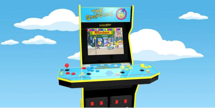 Arcade1Up les Simpsons