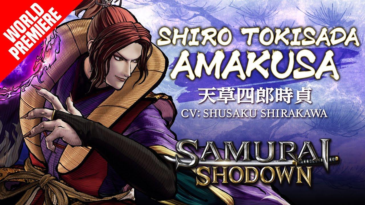 Shiro Tokisada Amakusa Samurai Shodown