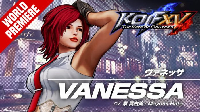 Vanessa The King of Fighters 15
