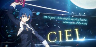 Bande-annonce Ciel Melty Blood : Type Lumina