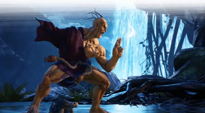 Oro visuel officiel Street Fighter 5