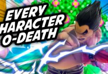 Kazuya combo zero-to-death super smash bros. ultimate