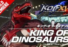 King of Dinosaurs dévoilé dans The King of Fighters 15