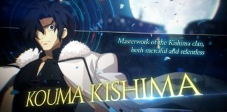 Kouma Kishima bande-annonce Melty Blood Type Lumina