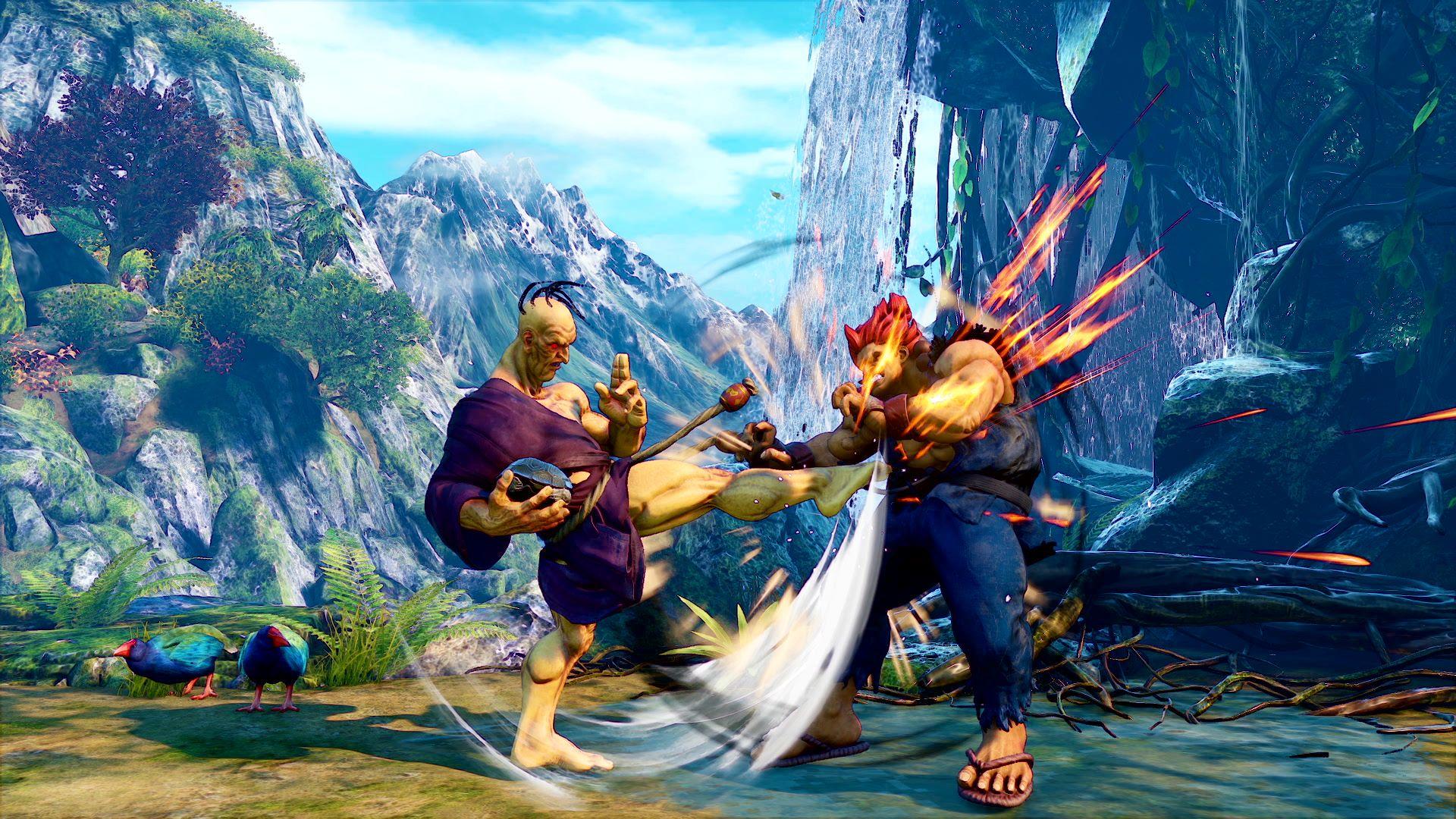 Street Fighter 5 combo Oro punition Reversal