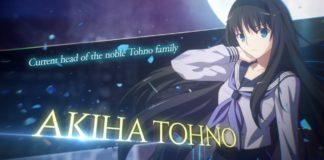 Bande-annonce Akiha Tohno Melty Blood : Type Lumina