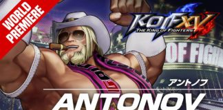 Antonov Bande-annonce The King of Fighters 15