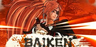 Baiken nouveau DLC de Samurai Shodown