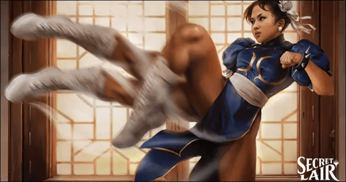 Magic the Gathering : Street Fighter