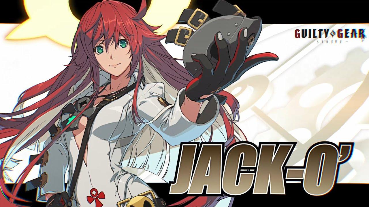 jack-o nouveau dlc de Guilty Gear : Strive