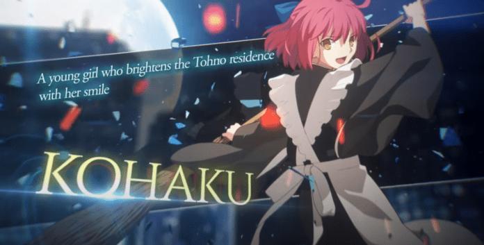 Kohaku dans Melty Blood: Type Lumina