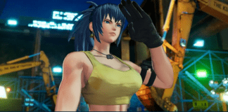 The King of Fighters 15 Rollback Netcode Leona