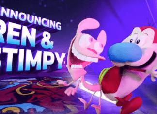 Ren et Stimpy dans Nickelodeon All-Star Brawl
