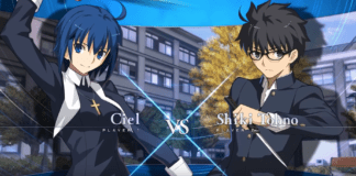Gameplay de Ciel et Shiki Tohno sur Melty Blood: Type Lumina
