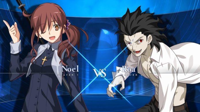 Melty Blood : Type Lumina match complet entre Noel et Roa
