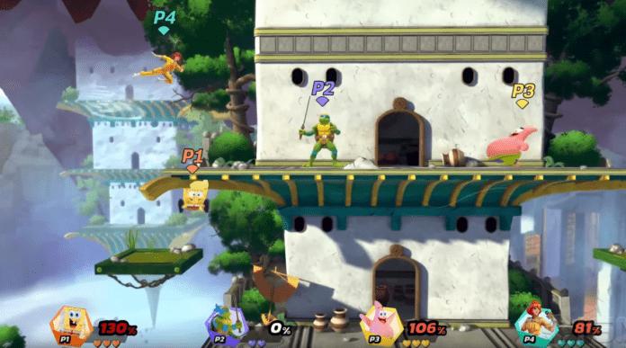 Nickelodeon All-Star Brawl gameplay