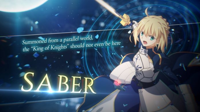 bande-annonce Saber Melty Blood : Type Lumina