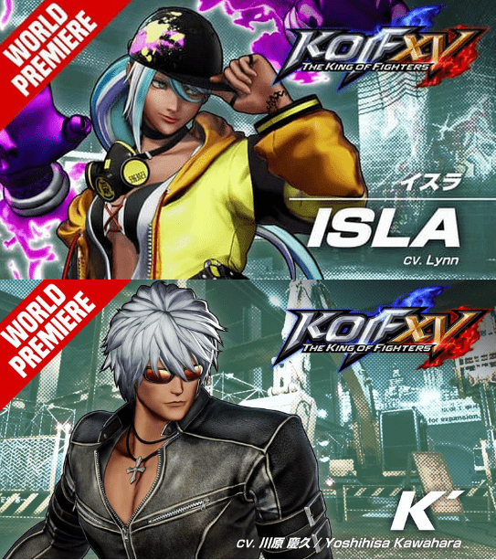 Isla et K bandes-annonces The King of Fighters 15