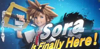 Sora ultime DLC de Super Smash Bros. Ultimate