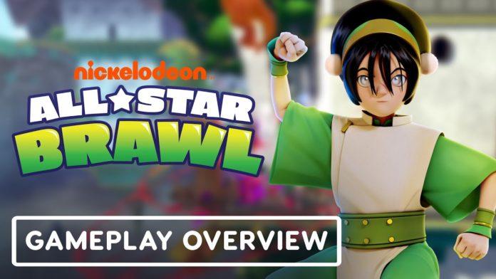 Toph révélée pour Nickelodeon All-Star Brawl